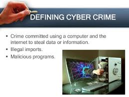 cybercrime..